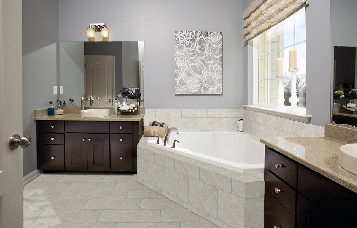 Eq11 Ivory 12x18 Wall And 12x24 Floor