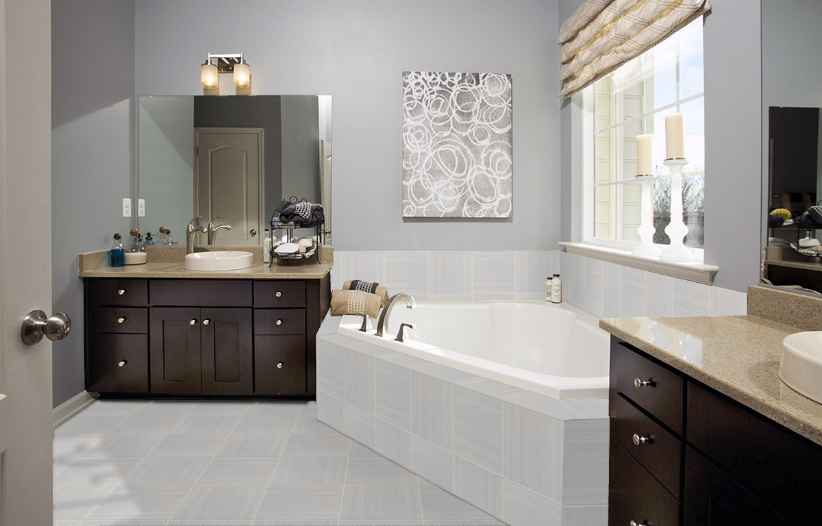 Drees Homes Daltile Program Bathroom - Level 5